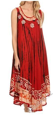 b6f52e9218b Šaty ALEXIS batika - červené (do 120 cm)