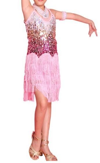 Dívčí latino šaty fd2ac0b6f8
