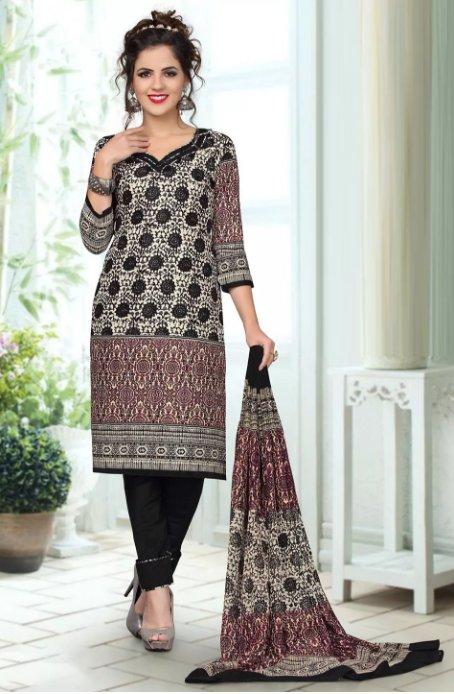 Šaty ORIENT černo-béžové s potiskem 93b7c7d993