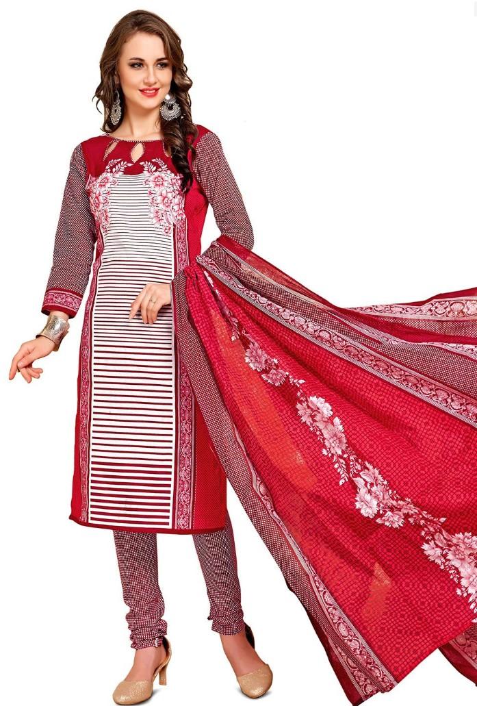 ORIENT šaty červeno-bílé 57401619a9
