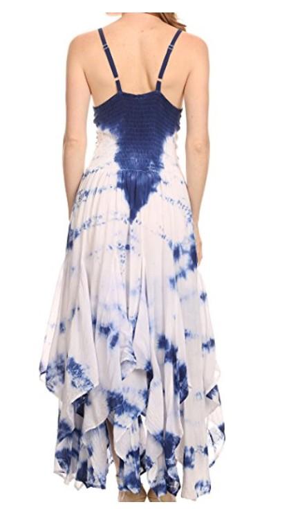 c23852bdc19 Šaty SAMI batika - tmavě modré (obvod do 115 cm)