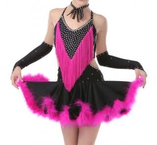 a9000e9cdc5d Dívčí latino šaty LILIANA
